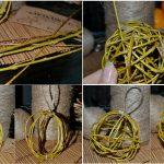 Фото 73: Новогодний шарик из веточек ивы