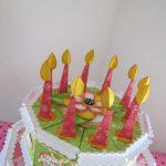 Фото 69: Свечи на торте из бумаги