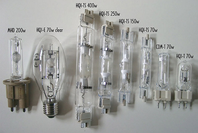 Типы кварцевых ламп по мощности