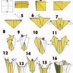 Фото 93: Ваза оригами из бумаги