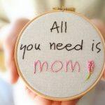 Фото 91: Вышивка для мамы