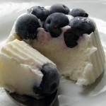 Фото 10: Десерт-мороженое с голубикой
