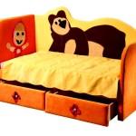Фото 17: Детский диван кровать Маша и Медведь