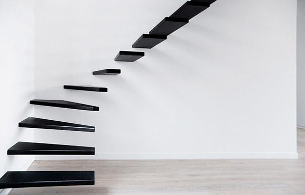 Минималистичная лестница