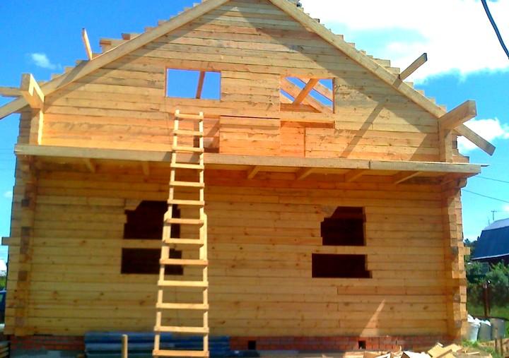 Фото 24: Строительство домов из бруса (11)