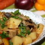 Фото 25: Тушеные овощи с розмарином