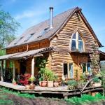 Фото 12: дома из бруса с мансардой (3)