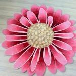 Фото 9: Цветок-ковер