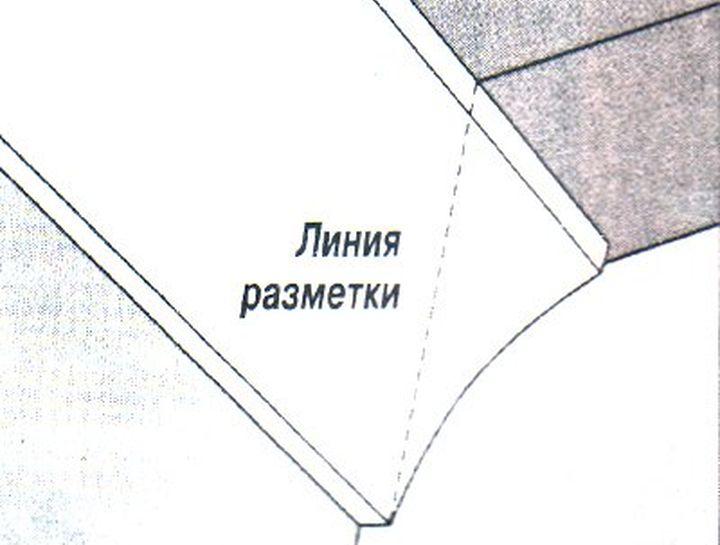 Как правильно сделать угол у потолочного плинтуса