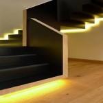 Фото 14: Подсветка ступеней