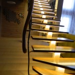 Фото 15: Освещение лестницы