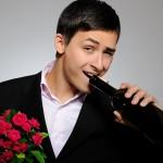 Фото 22: Вино и цветы
