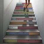 Фото 23: Разноцветные ступени