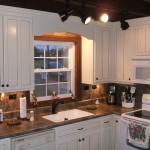 Фото 23: Необычное освещение кухни
