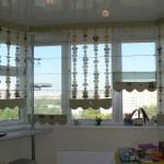 Фото 23: Римские шторы прозрачные