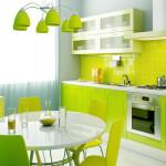 Фото 24: Яркая кухня