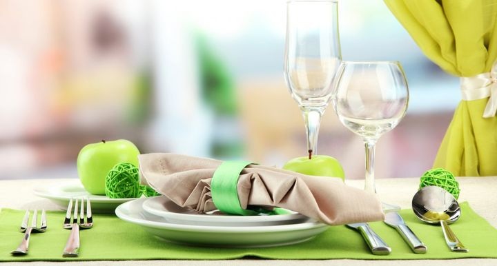 Основные элементы сервировки праздничного стола