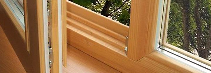 Дышащая фактура деревянных окон