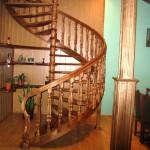 Фото 30: Лестница винтообразной формы