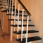 Фото 7: Классический вариант исполнения лестницы