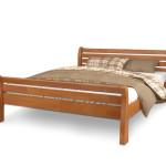 Фото 8: Двухспальная кровать из сосны
