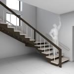 Фото 9: Лестница в интерьере