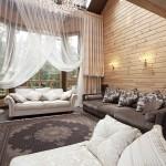 Фото 8: Классический стиль деревянного дома