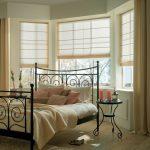 Фото 95: Римская штора для спальни