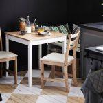 Фото 104: Стол Икеа на кухне