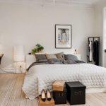Фото 57: Белая низкая кровать