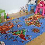 Фото 47: Ковер для детской с картами
