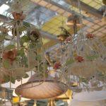 Фото 73: Керамические люстры в виде птичьих клеток