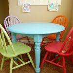 Фото 109: Цветной столик и стулья