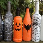 Фото 73: Декор бутылок в Хэллоуину