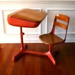 Фото 14: Дизайн письменного стола на одного человека