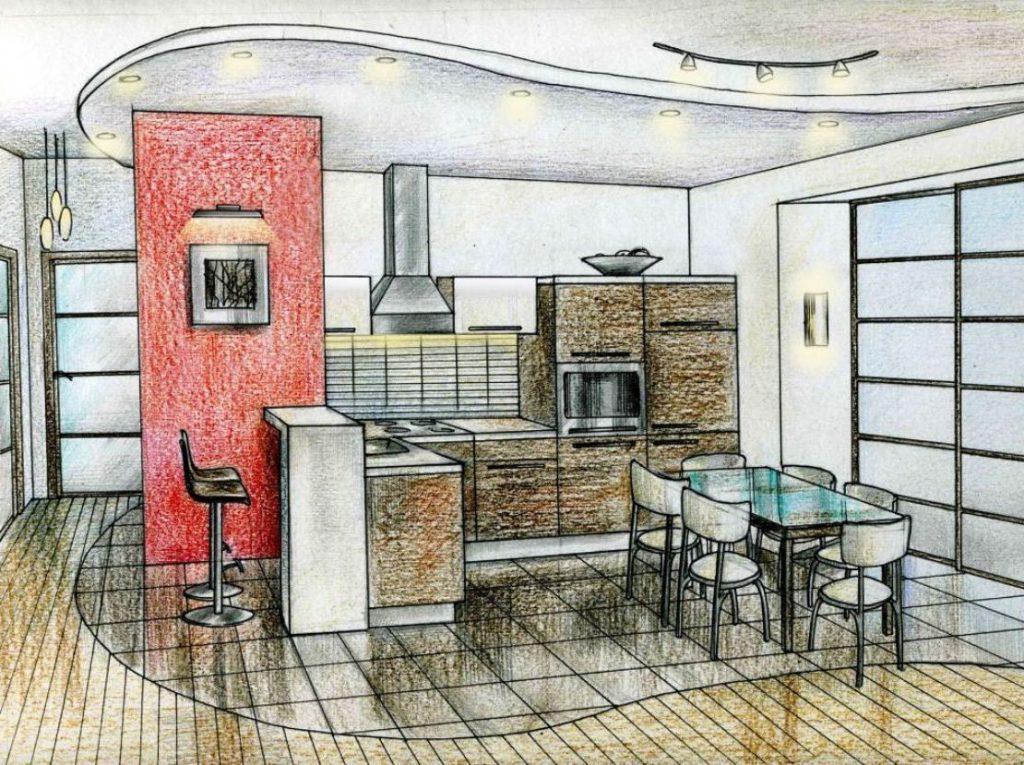 Составление дизайн-проекта квартиры