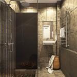 Фото 17: Дизайн ванны в золотистых тонах