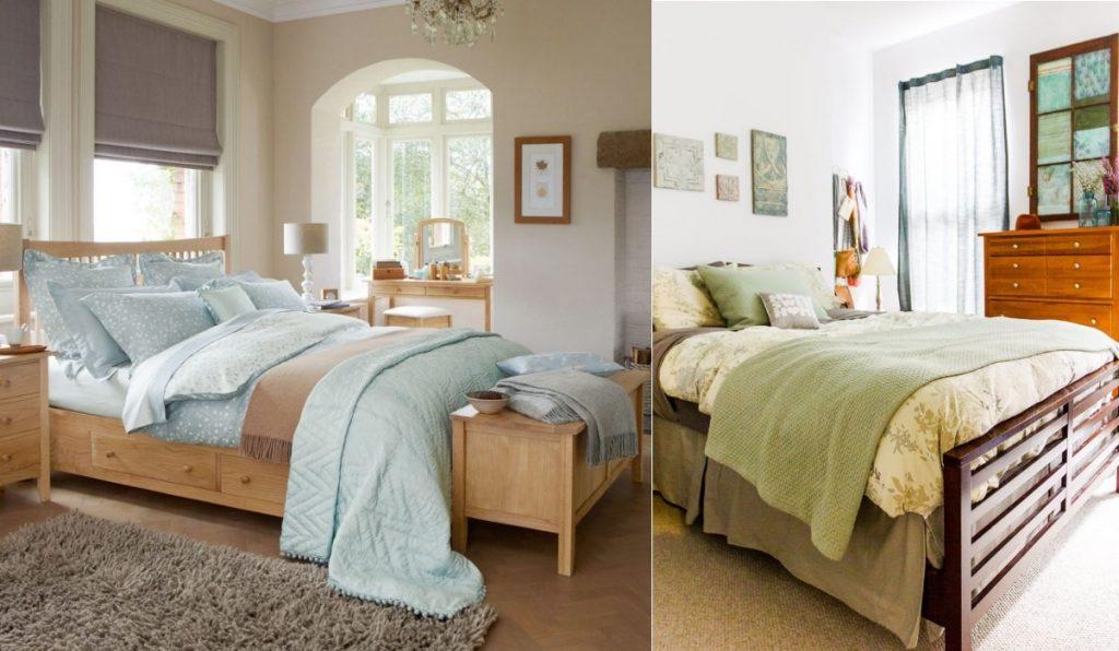 Цветовые решения для деревянных кроватей