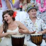 Фото 24: Свадьба в стиле Гаваи