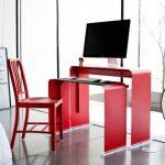 Фото 49: Компьютерный стол в стиле хай-тек