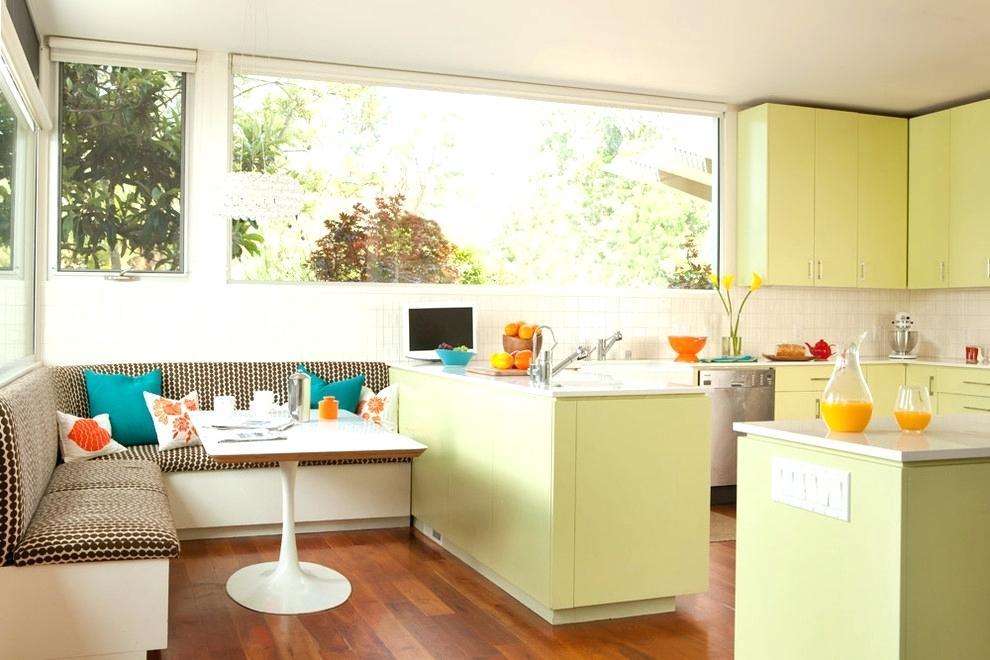 Кухонный уголок в дизайне кухни