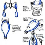 Фото 147: Изготовление люстры из бутылки и лампочки