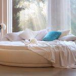 Фото 70: Круглая кровать-пуфик