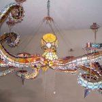 Фото 138: Люстра осьминог