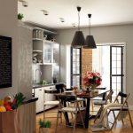 Фото 153: люстры в интерьере кухни