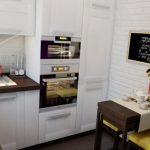 Фото 82: Маленький раскладной стол для кухни
