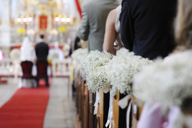 Церемония под марш Мендельсона