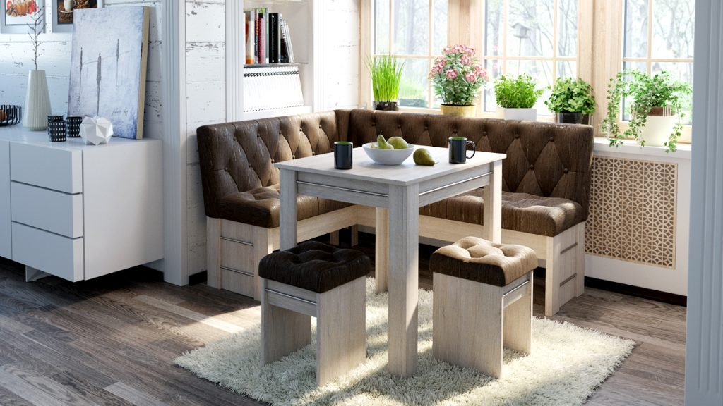 Мебельный кухонный уголок