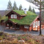 Фото 57: Традиционный норвежский дом из лафета