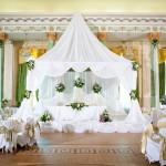 Фото 21: Оформление свадебного зала